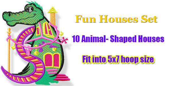 Fun houses set