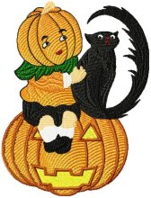 Halloween Black cats 010