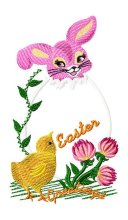 Easter Greetings Applique 002