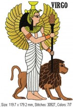 Nephthys and Thoth and Virgo