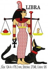Maat and Anubis is Libra