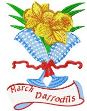 Flower of the month - Daffodils - March