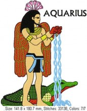 Hapi and Sobek is Aquarius