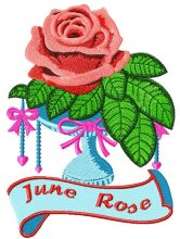 Flower of the month - Rose - June