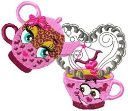 Cups In Love Set