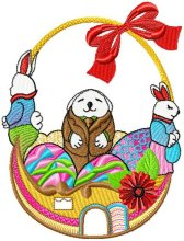 Easter Baskets Design 006