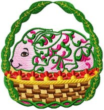 Easter Baskets Design 007